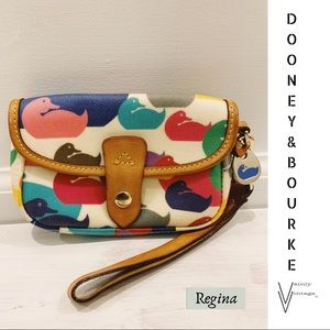 Dooney & Bourke Wonder Duck Wristlet